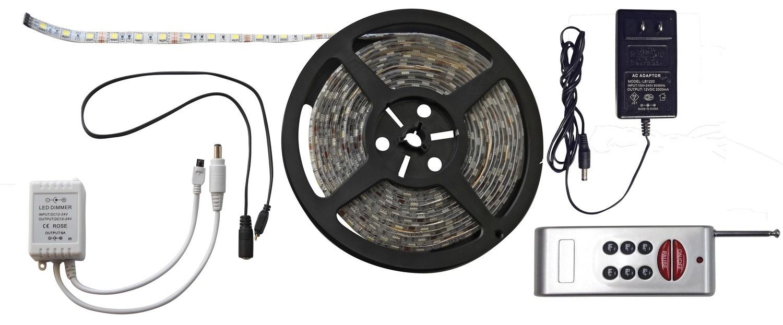 6 Foot RGB LED Strip Light Kit with RF Remote