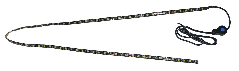 Black Backed LED Utility Strip Light - 4 Foot