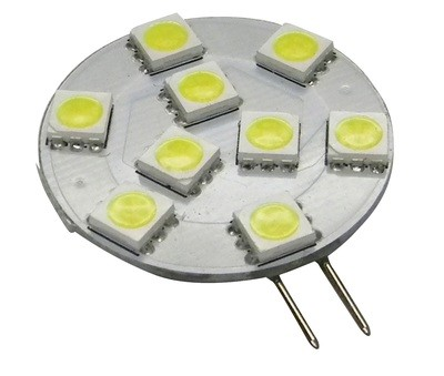 LED Bulb - 9 Diode with Side Mount - Warm White