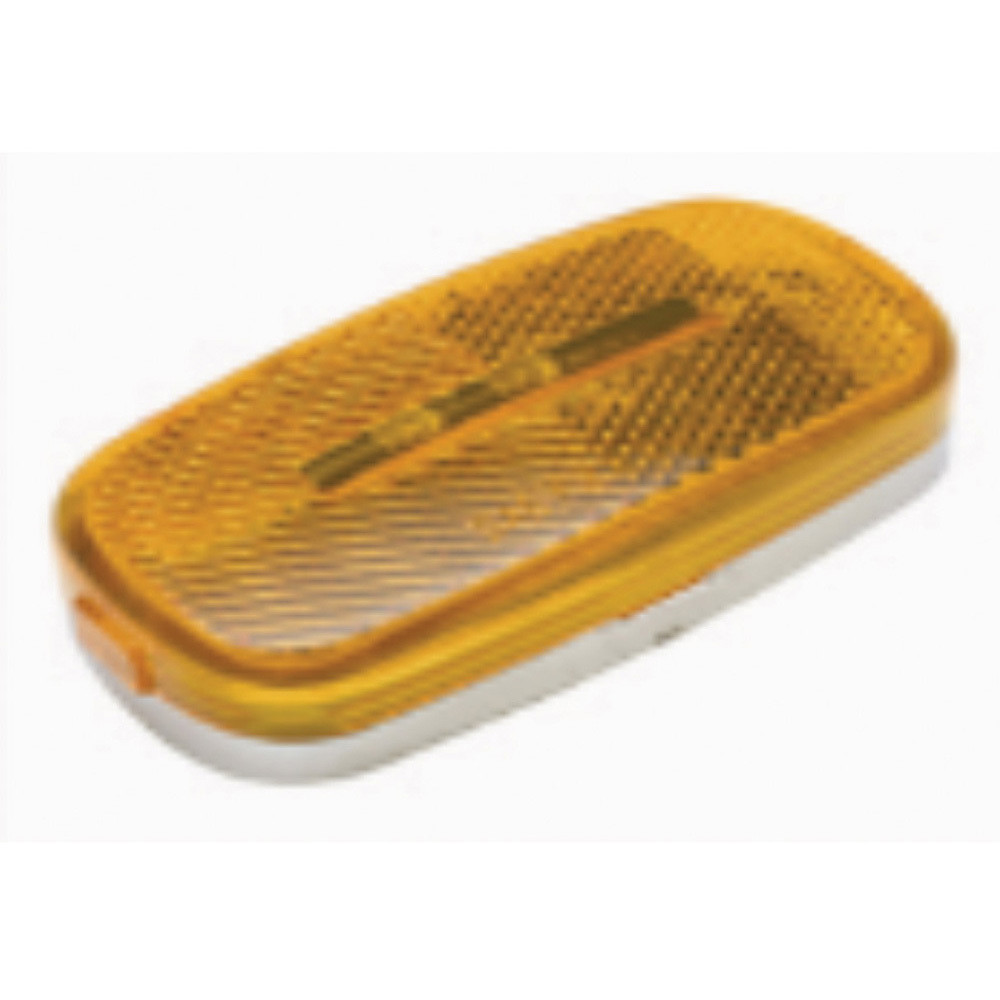 "9 Diode Waterproof LED 4"" x 2"" Marker Light - Amber"
