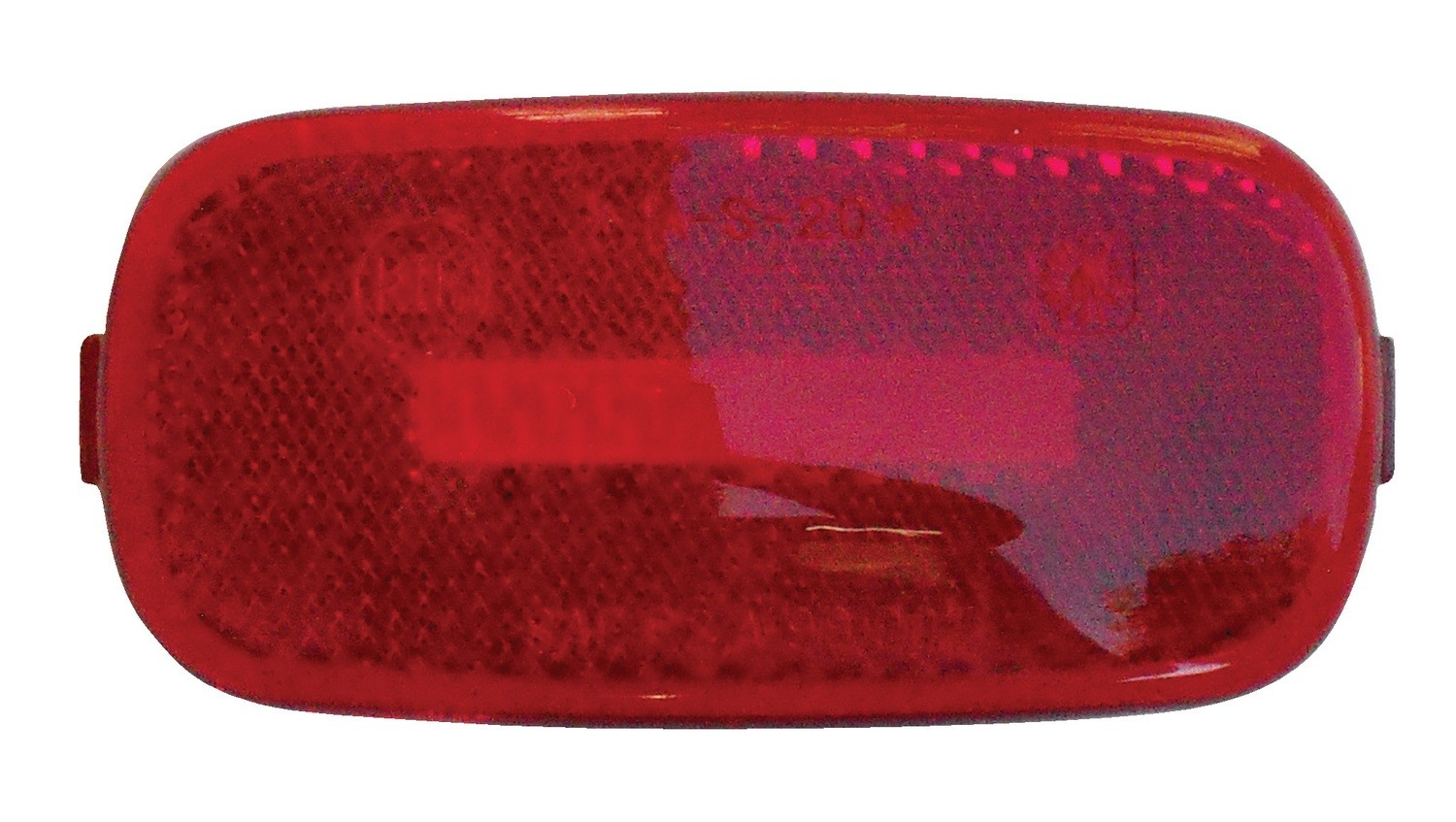 "Red Replacement Lens for Standard 4"" x 2"" Marker Lights"