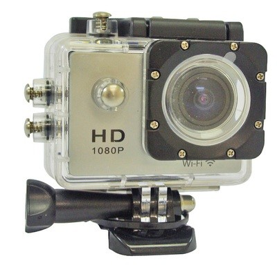 Portable Action Camera - Grey Body