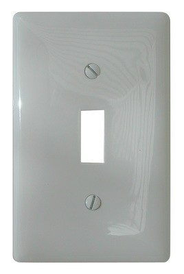 Toggle Switch Cover - White