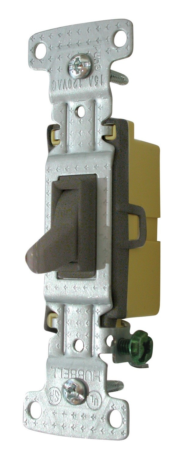 Standard Toggle Switch - Brown