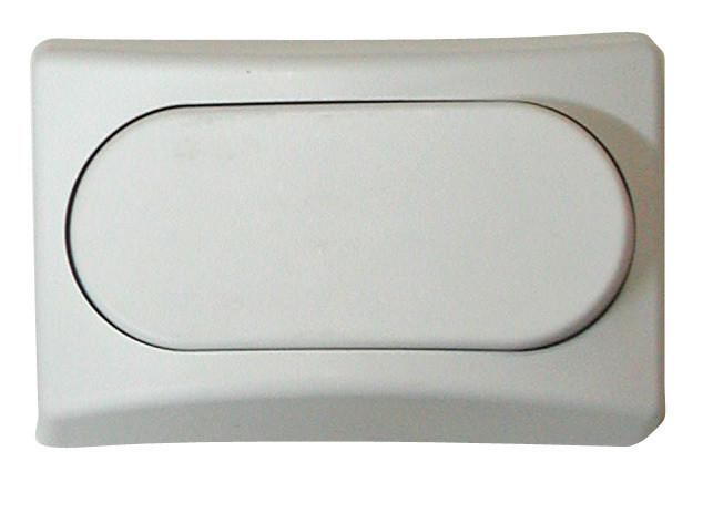 Designer Wall Plate - White Single