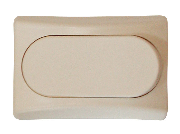 Designer Wall Plate - Ivory Single