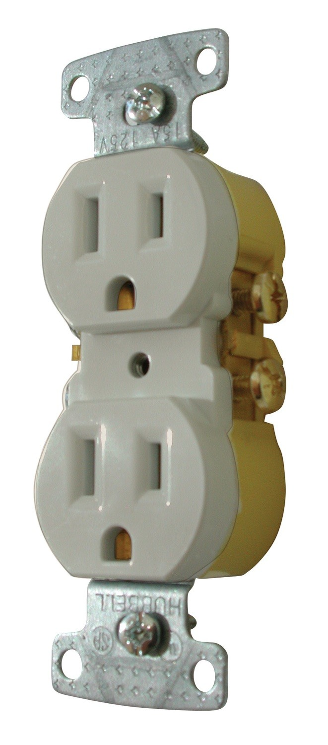 Standard Receptacle - Ivory