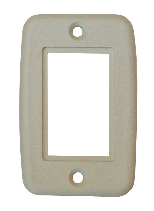 Exposed 5 Pin Side by Side Wall Plate - Ivory