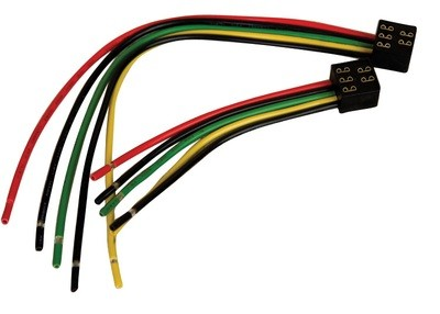 5 Pin, In-Line Terminal Wiring Harness - Square Harness 6