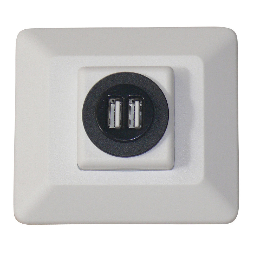 Decor USB Charging Station - White