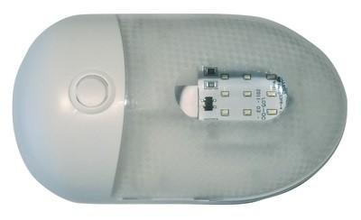 Single LED Replacement Pancake Light - Warm White