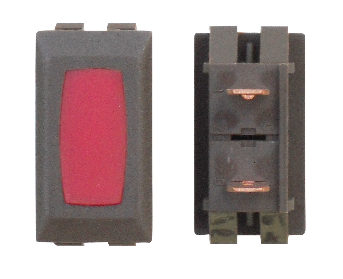 Illuminated Indicator Light - Red/Brown 1/card