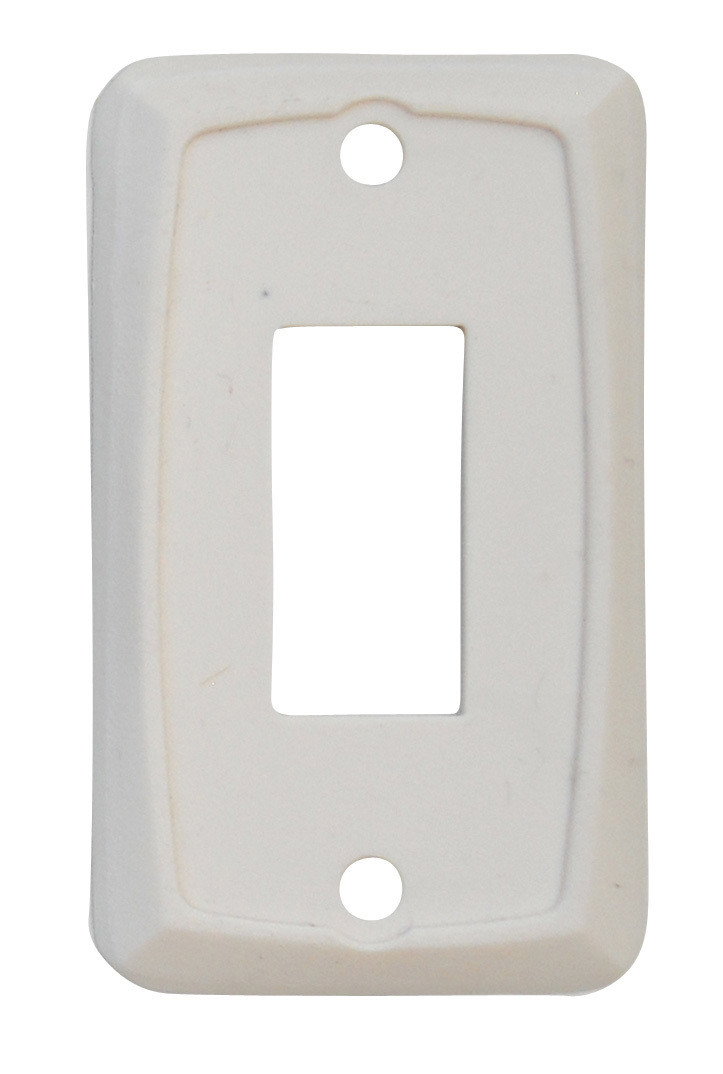 Single Face Plate - Ivory 1/card