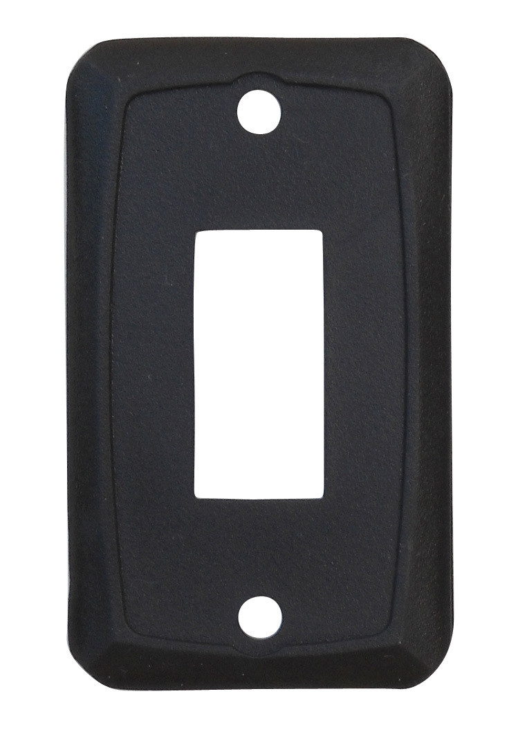 Single Face Plate - Black 1/card