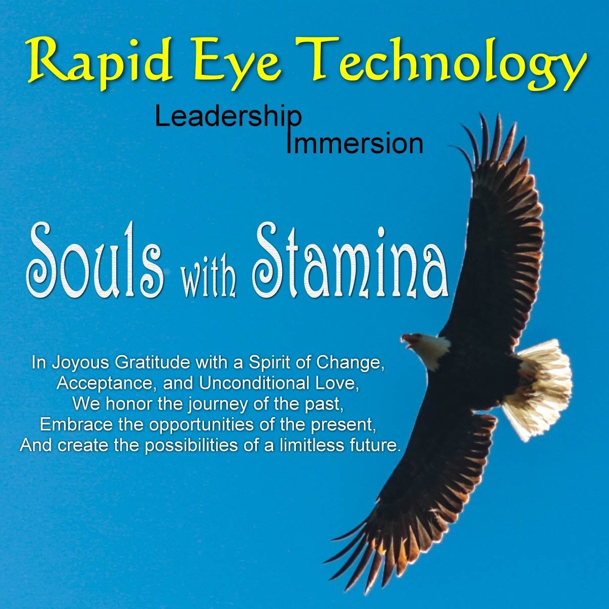 Live Training - RET Leadership Immersion - Souls with Stamina RETLSWS