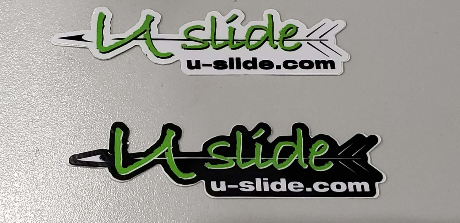 U-Slide Mini Decal