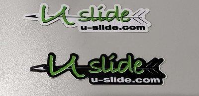 U-Slide Mini Decal