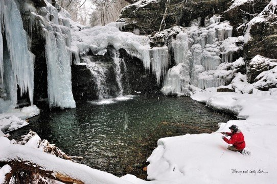Icy Falls  18x27