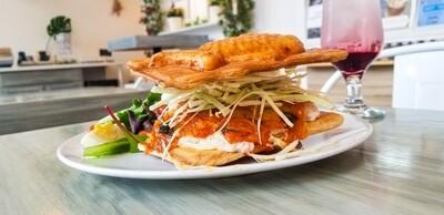 Kimchi Tuna Salad Sandwich
