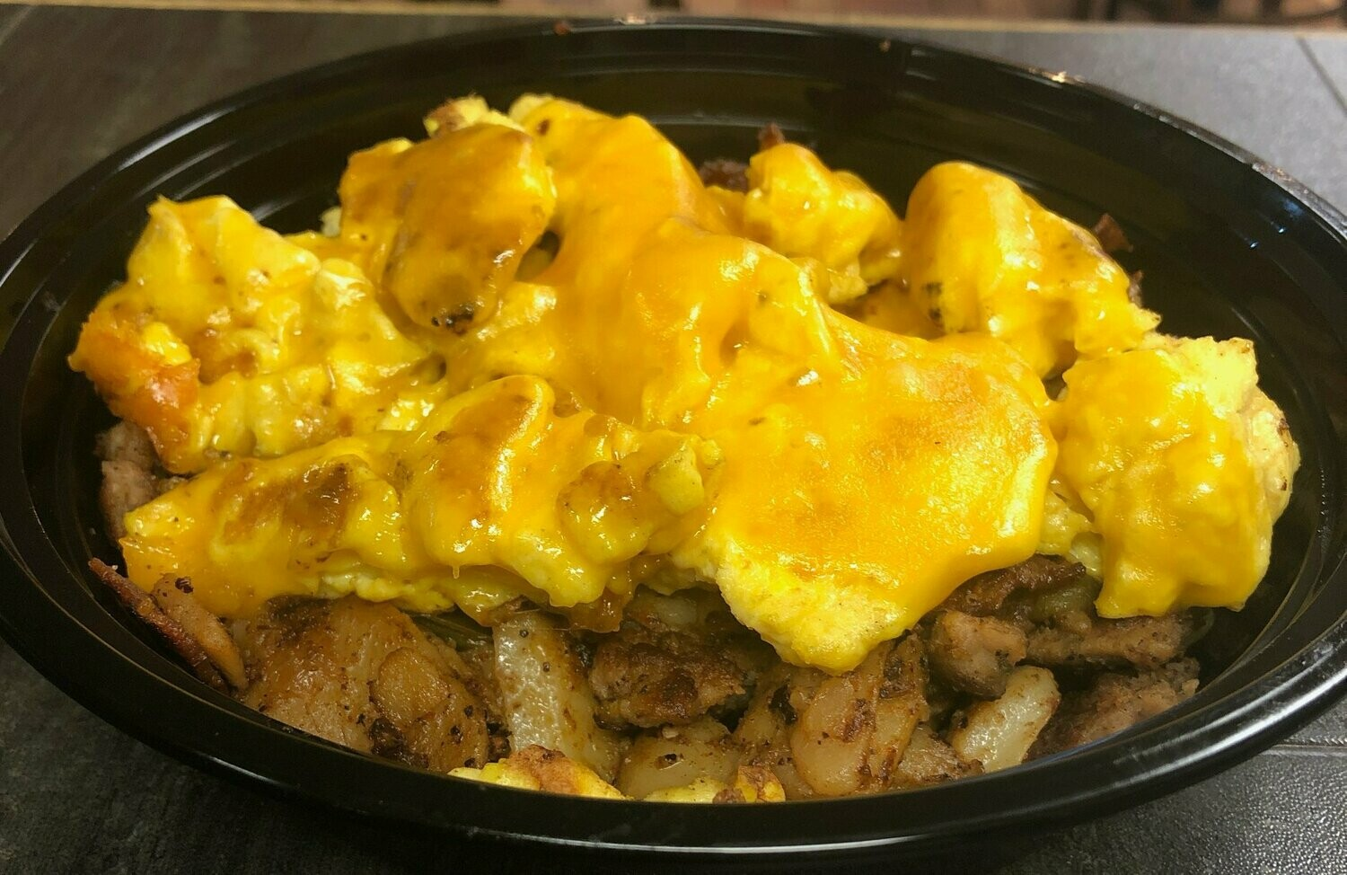 Eggs, Cheese & Potato Bowl
