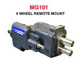 Metaris Twin Shaft 6-Wheel Dump Pump MG101