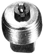 "1/2"" NPT Magnetic Pipe Plug PPM08"