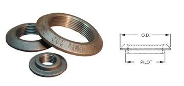 "1/2"" NPT Steel Flange FDF050"