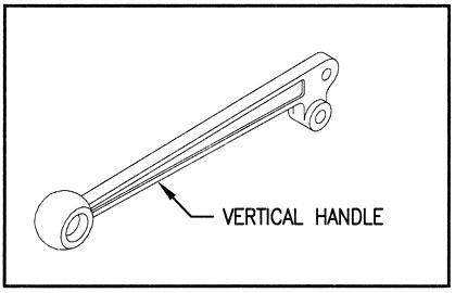 660190001 - Vertical Handle & link kit