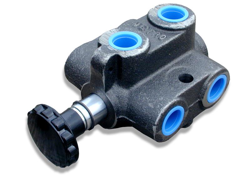 12v Hydraulic Selector Valve : Hydraulic diverter valve schematic pressure