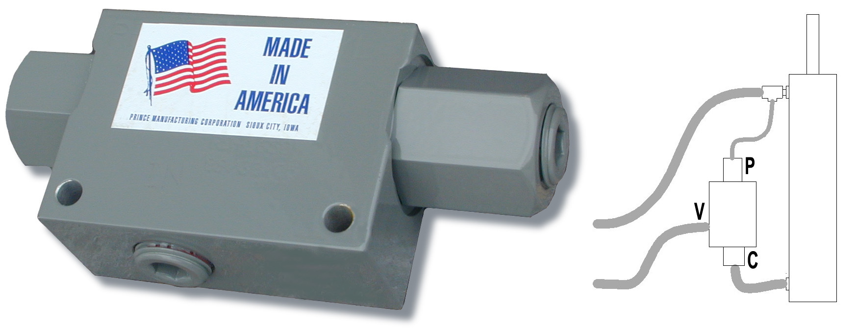 RD-1650 Pilot Operated Check Valve RD-1650