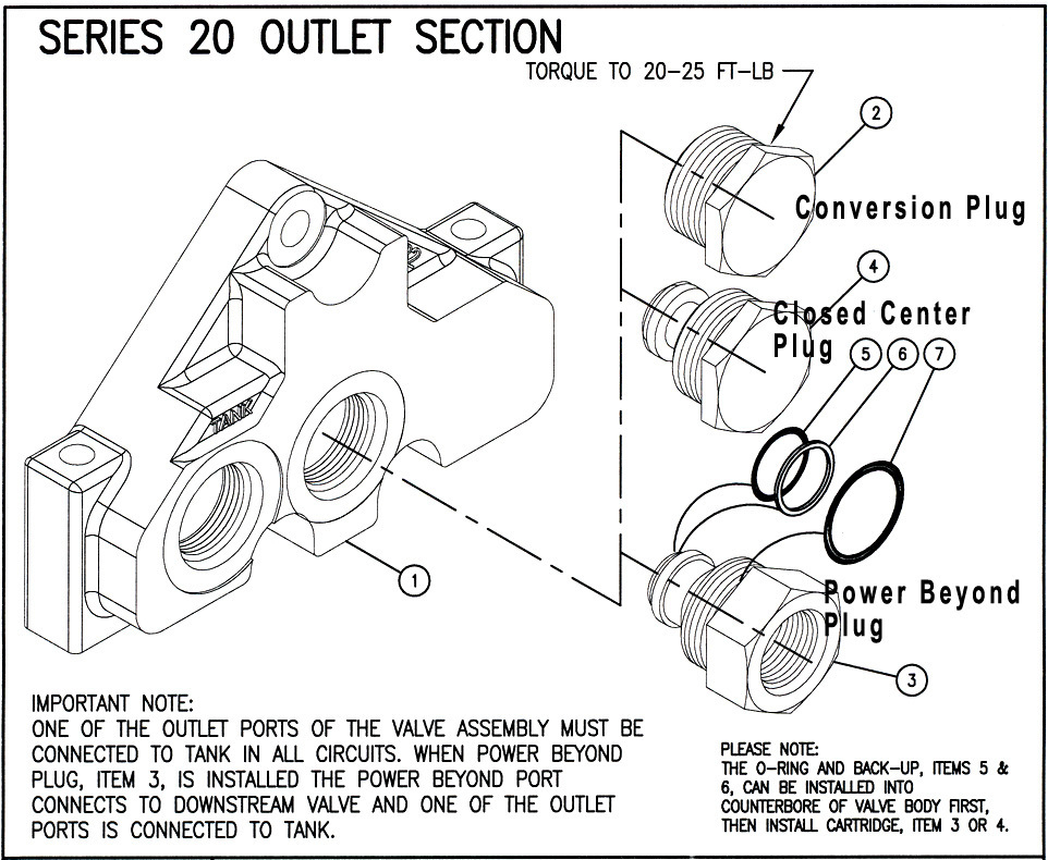 660290006 - OPEN CENTER PLUG