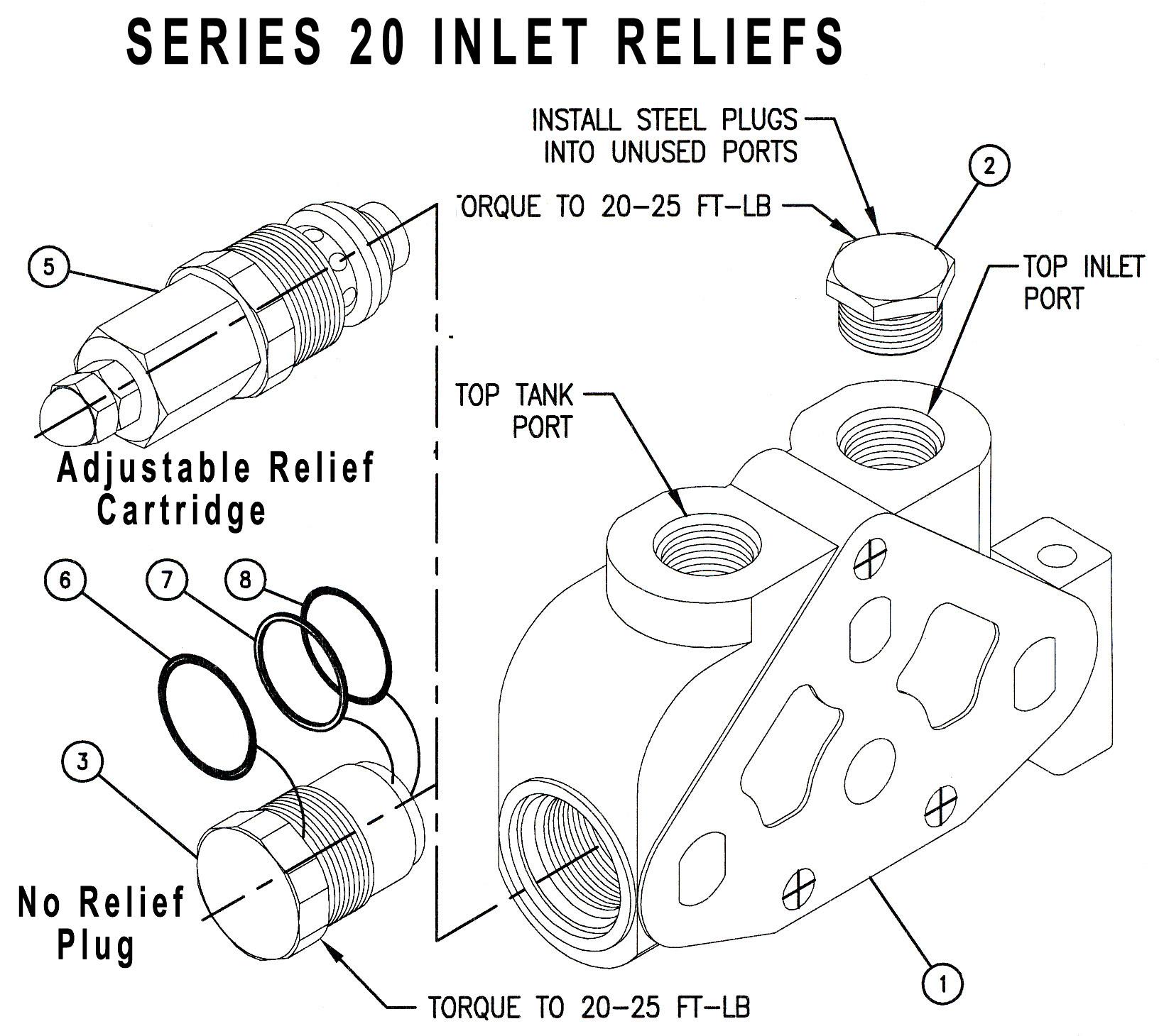 290001 - No Relief plug 290001