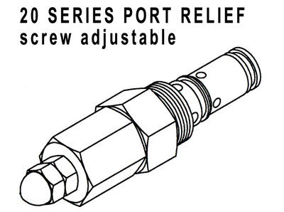 660290403 - PORT RELIEF CARTRIDGE - 1350-1750