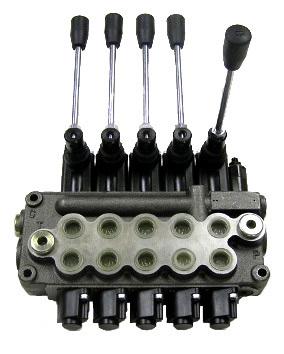 4 Spool MB41BBBB5C1 Wolverine Valve - 20-8402