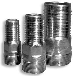 "BHEPS5X6  Steel Hose Barb 1 1/4"" NPT x 1 1/2 hose BHEPS5X6"