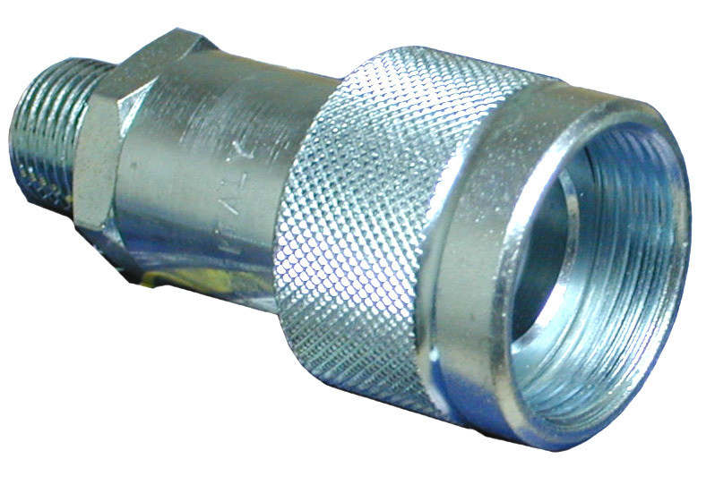 Stucchi Ram-Half Quick Coupler, 3/8 npt