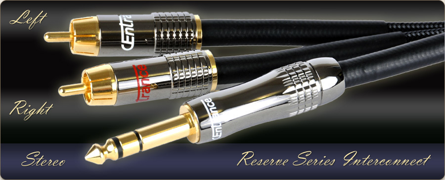 "Reserve Series Stereo 1/4"" to Dual RCA cable"