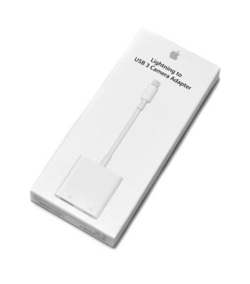 Lightning to USB 3 adapter