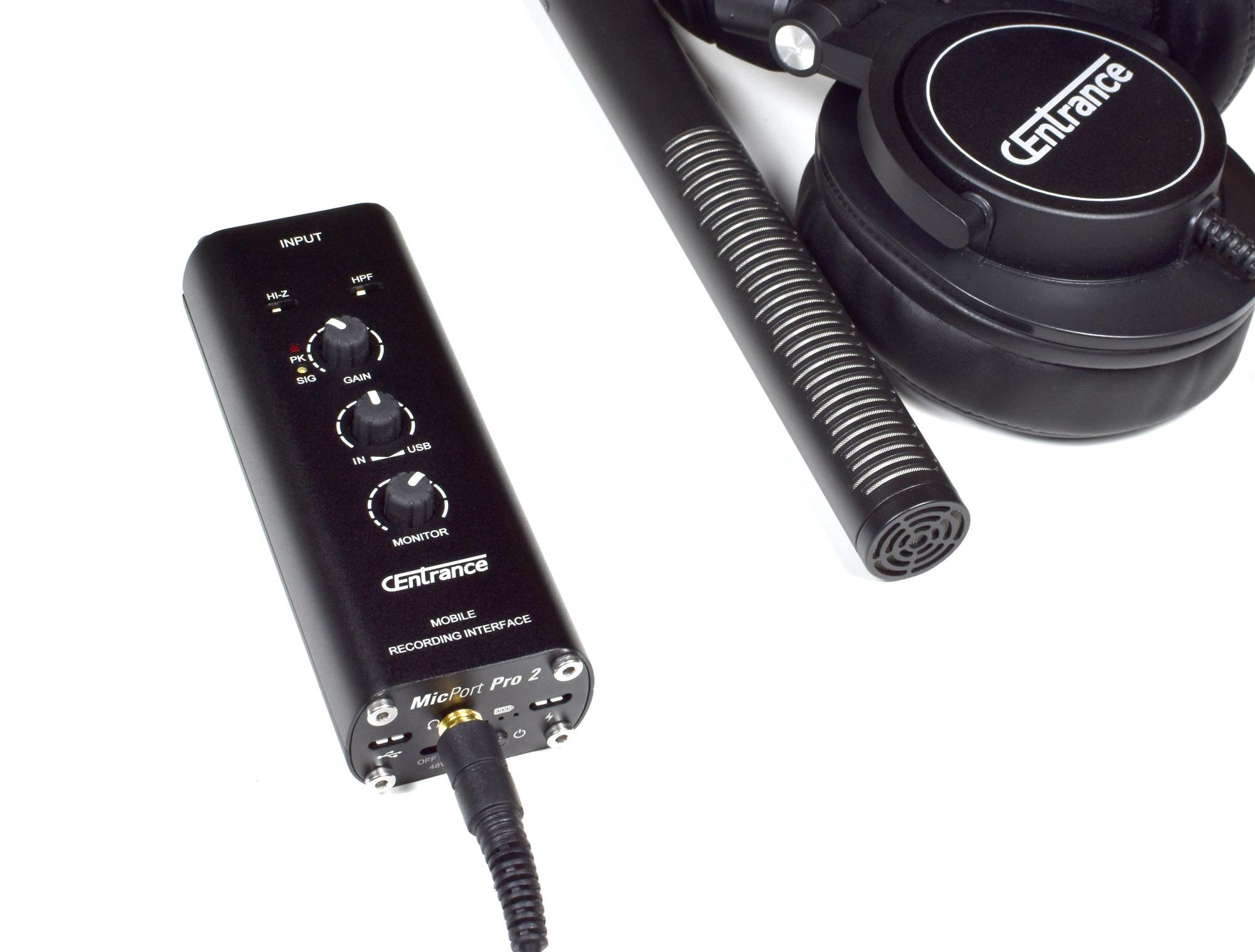 MicPort Pro 2 - USB mic preamp