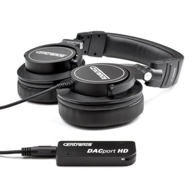 Gift Bundle: DACport HD + Cerene dB Headphones