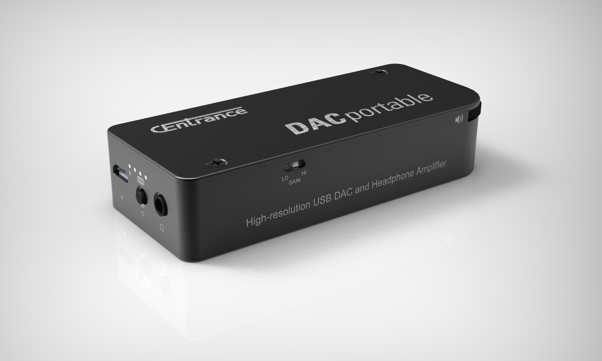 DACportable - Portable DAC/Amp for iPhone/iPad, computers