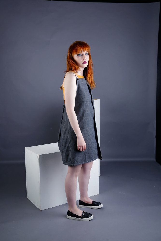 Eloise - Dungaree Dress