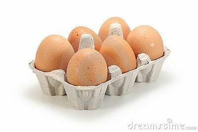 "Huevos por 1/2 ""media"" docena"