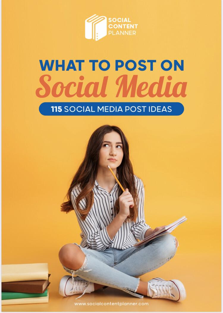 Social Media Content Planner Bundle