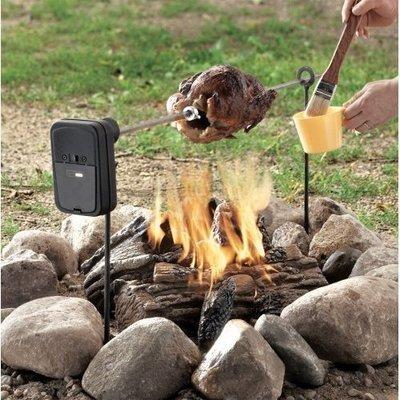 Campfire/BBQ Spit Rotisserie
