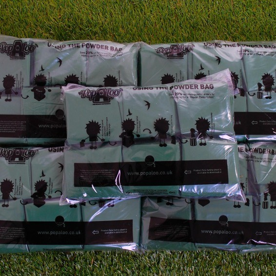 Popaloo Powder Bags Bulk - 50