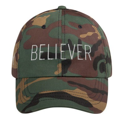 """Believer"" Baseball Fashion Hat"