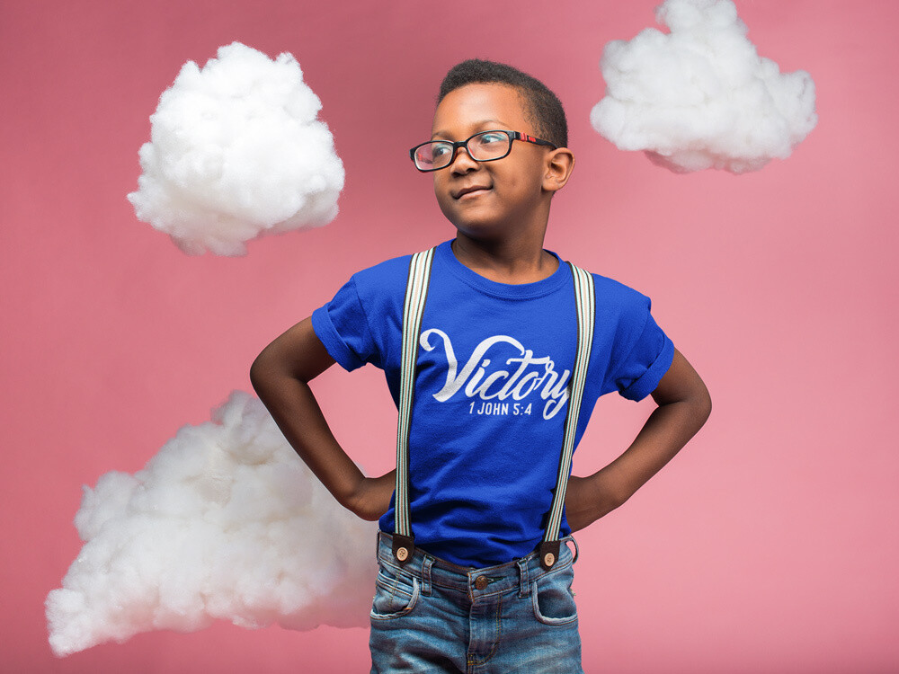 """Victory"" Script Style - Youth T-Shirt"