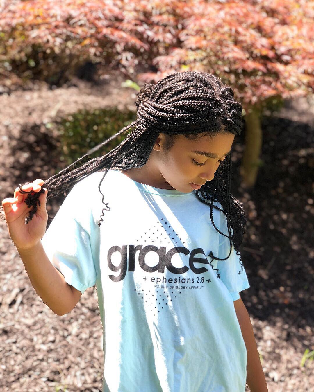 """Grace"" Youth Short Sleeve T-Shirt"