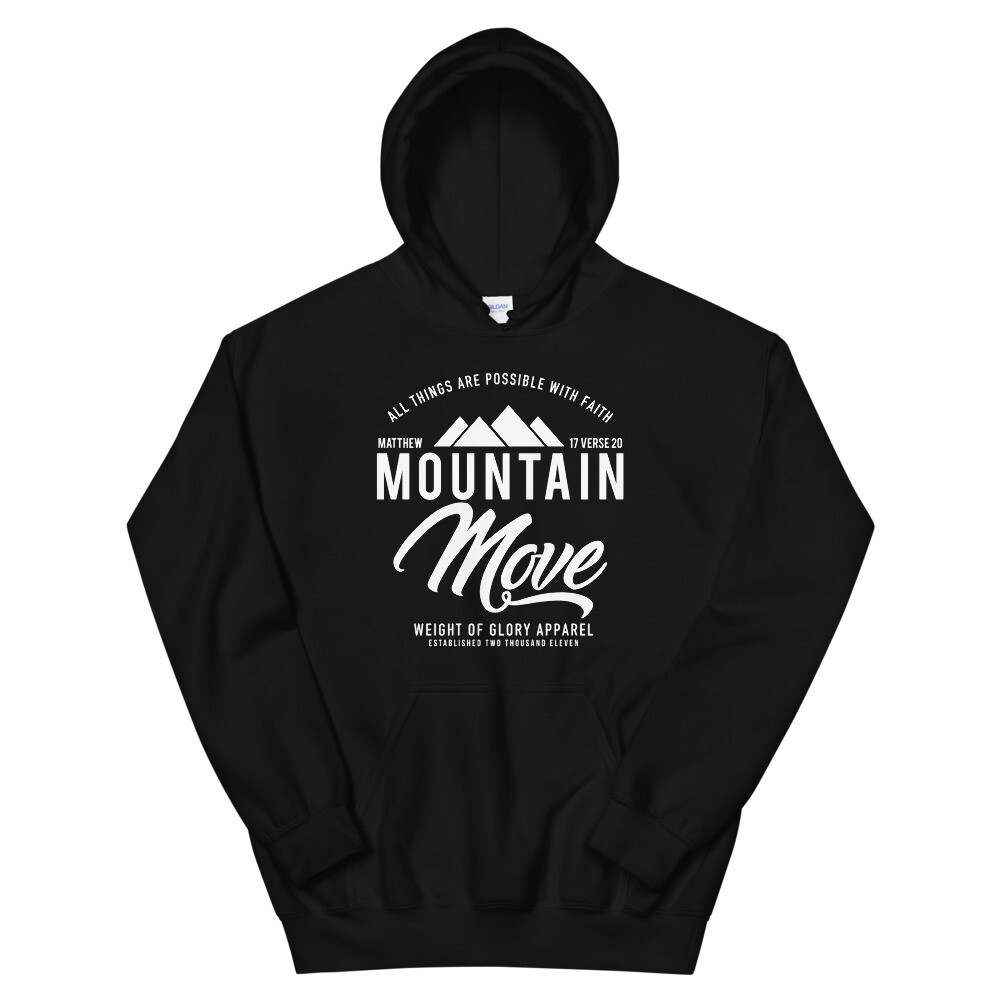 """Mountain Move"" Unisex Hoodie"